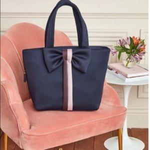 Stella & Dot Navy Crush it Bow Bag